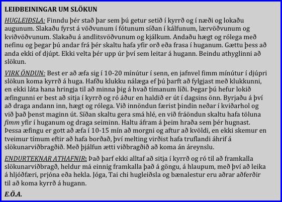 Slokun_leidbeiningar_EOA